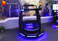 9D VR Standing Battle Motion Platform Attractive Design Stimulate Experience