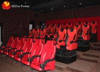 Dynamic Seat System Ergonomically 4D Movie Theater With 100 Hd Pieces Movies